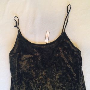 Victoria s Secret Intimates   Sleepwear - NWT Victoria s Secret velvet  lingerie dress 4f7b7ef57